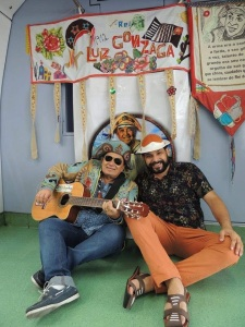 Marcus Lucenna e Marcelo Mimoso no Trem do Forró