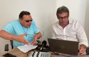 Marcus Lucenna e Lindbergh Farias